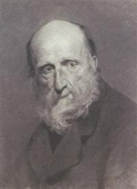 alter mann nach rechts schauend by ludwig (hofmann-zeitz) hofmann
