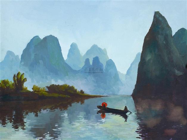 漓江风景 by qin xuanfu
