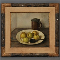 apples and jug by henk bos