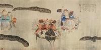 夜战马超 (figure) by deng jiade