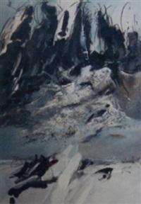 abstrakte komposition by christiane reinhardt