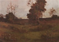 meadow in autumn by william c. emerson