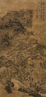 hermit in mountain by xu weruo