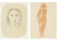 dessins(a set of 25) by andré derain
