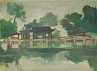 1940年代末至1950年代初 杭州风景 (scenery of hangzhou) by guan liang