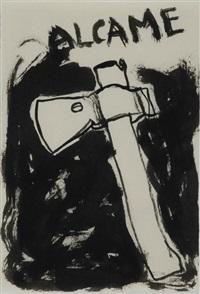 um machado em alcamé by julião sarmento