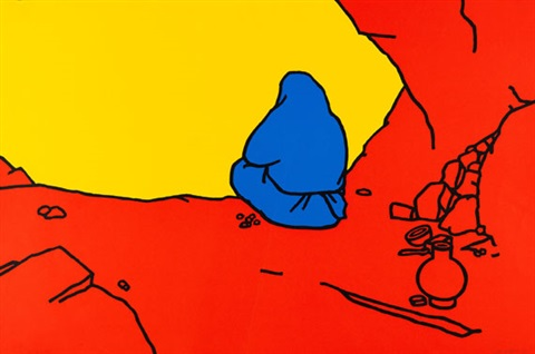 2 blätter hermit earthenware 2 works by patrick caulfield