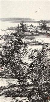 山水 by liu zhenqing
