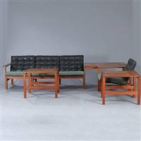 moduline furniture set (set of 6) by ole gjerlov knudsen