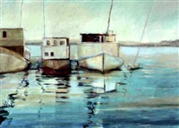 shrimp boats by ruth goliwas