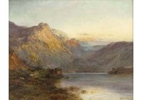 mountain ranges in scottland by alfred de breanski sr