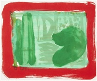 green room by howard hodgkin