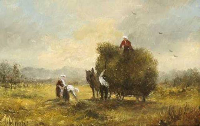 heuernte by herbert wehringer