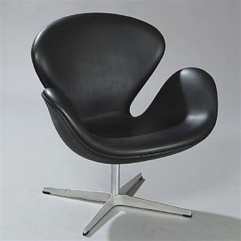 the swan model 3316 by arne jacobsen