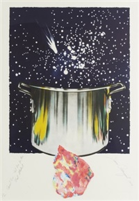 caught one, lost one for the fast student or star catcher by james rosenquist