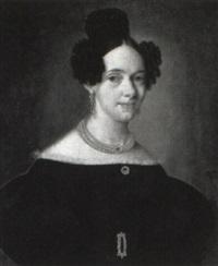 porträt af fru caroline kock, fädt areshug by carl peter lehmann