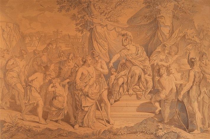 alexander der große verurteilt timokles by georg friedrich schmidt