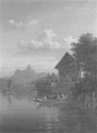 lac de la gruyere by jean bryner