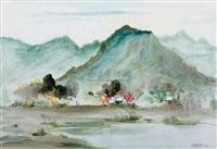 landscape by ma qunxiong