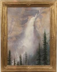 takakkaw falls, yoho valley by marion boyd allen