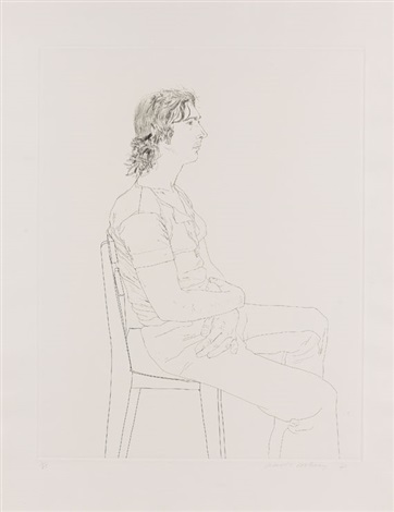 maurice payne by david hockney