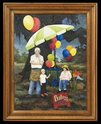 balloons 45 cents by george rodrigue