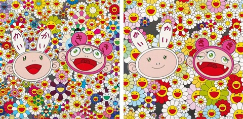 kaikai kiki news no2 kaikai ans kiki lots of fun set of 2 by takashi murakami