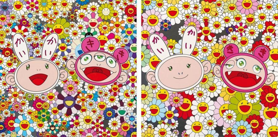 kaikai kiki news no2 kaikai ans kiki lots of fun set of 2 by takashi murakami