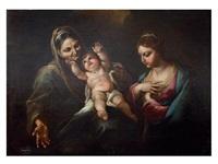 virgen con el niño y santa ana by giacomo farelli