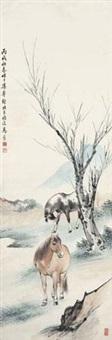 双骏图 by ma jin