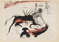 bullfight no. 3 1966 by salvador dalí