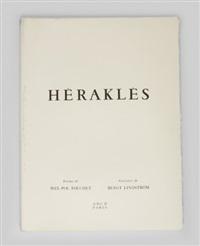 herakles (portfolio of 12) by bengt lindström