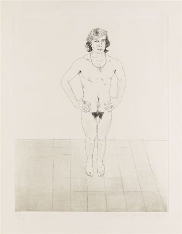 peter by david hockney