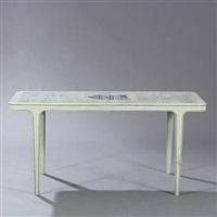 rectangular table by frits henningsen
