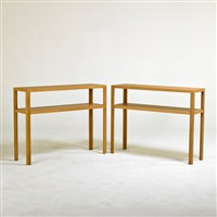 console tables (pair) by jean-michel frank