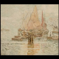 harbor tapestry by andria ander
