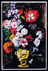 floral still life by adrienne anderson