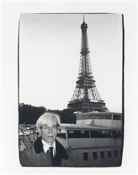 andy warhol and eiffel tower by andy warhol