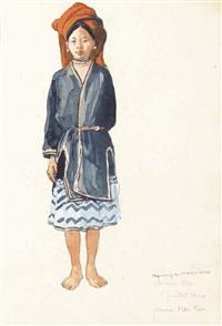 femme man tien by francois marie léon de marliave