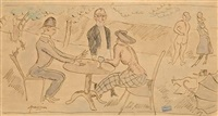 im park by jules pascin