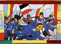 blaue soldaten by josef wittlich