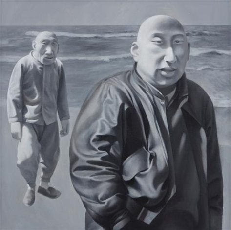 series 1 no 4 by fang lijun