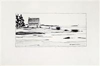 bord de mer en bretagne by francois avril