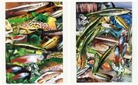 aquarium i (+ aquarium ii; 2 works) by isa genzken