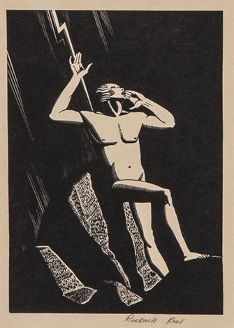 prometheus by rockwell kent