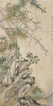 花鸟 (flower and bird) by ma yuanyu