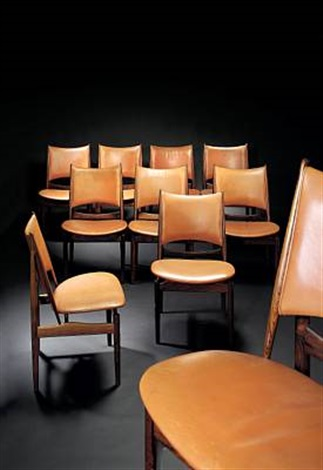The Egyptian Chair (set Of 10) By Finn Juhl
