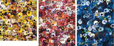 mgst mcrst mcbst set of 3 by takashi murakami