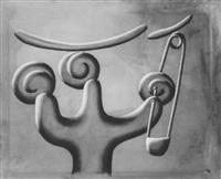 figur mit büroklammer by gerhard naschberger