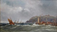 view of whitby by richard short
